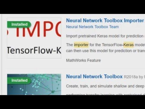Importing TensorFlow Keras Models in MATLAB