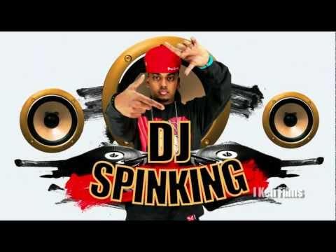 DJ SpinKing title design