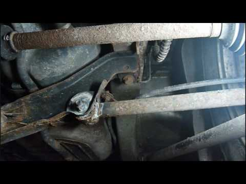 Freelander Subframe Creaking Cracking Noise Youtube