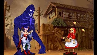 Darkstalkers 3 [PS1] - play as Shadow