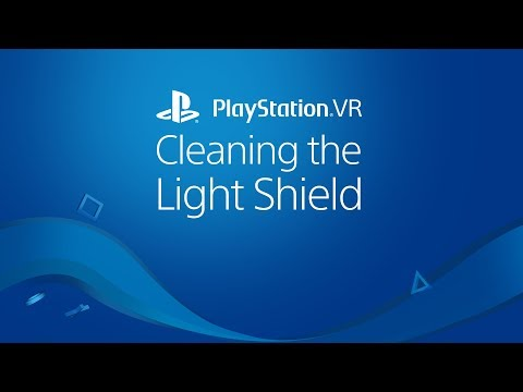 PlayStation VR Light Shield Cleaning