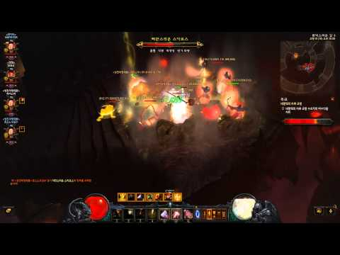 Diablo 3 Reaper Of Souls 4-Man Crusader Party - Torment VI