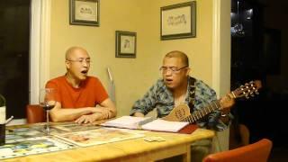 Francis Wong & Natalis Wong Jamming in Toronto at 2 a.m. (June 2010...