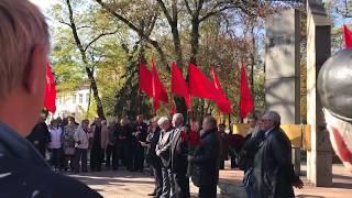 Пока все были на марафоне и толоке, в Запорожье отпраздновали 100-летие комсомола