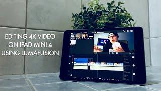Video 📲 Testing LumaFusion on iPad Mini 4 download MP3, 3GP, MP4, WEBM, AVI, FLV September 2018