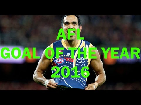 AFL GOAL OF THE YEAR 2016 - Best Goals of the 2016 Home and Away AFL Season