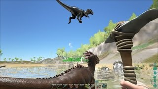 ARK : Survival Evolved , capture de dilo [Eternity]