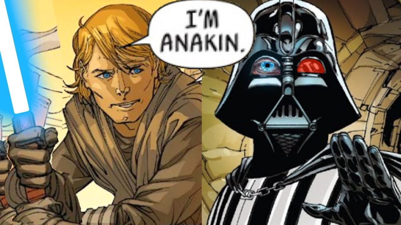 When Darth Vader Used his Anakin Skywalker Jedi Powers(Canon) - Star Wars Comics Explained