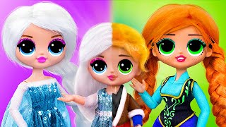Elsa and Anna with Their Kids / 10 Frozen DIYs