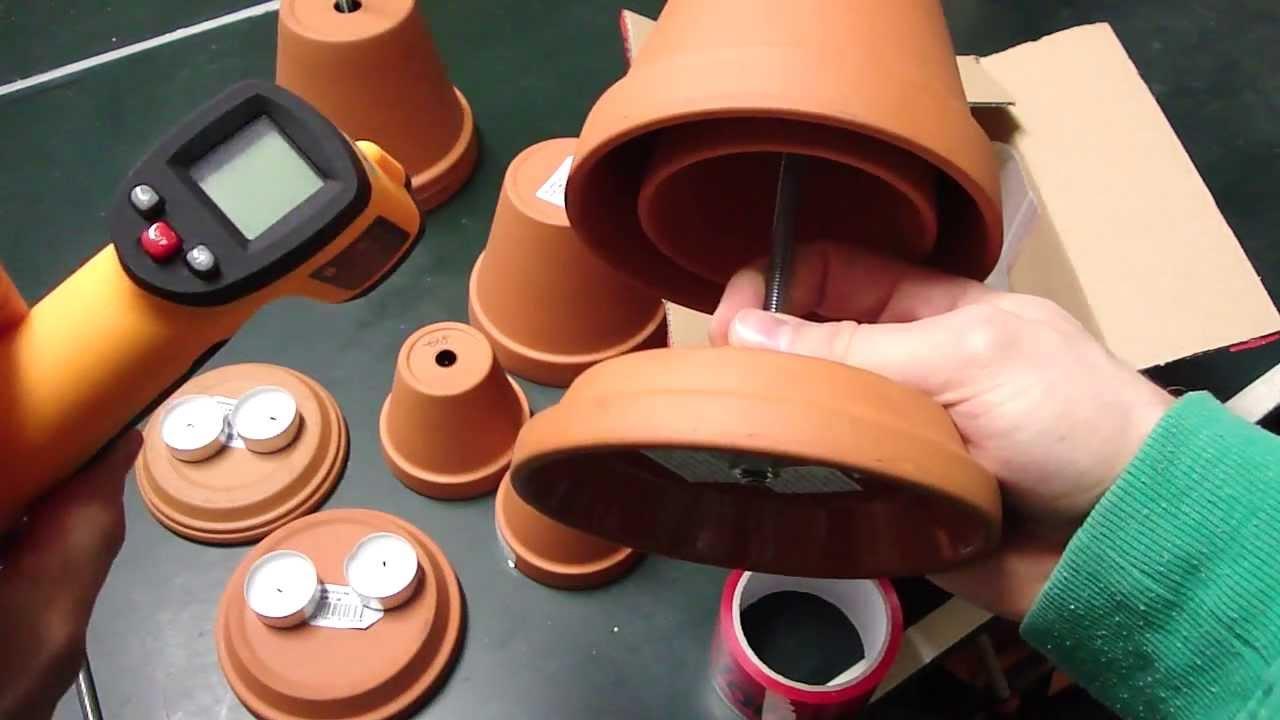 Teelichtofen Hilfe Beim Bau Muster Zusenden Lassen Und Sicher