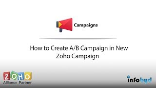 Comment Créer Un B Campagne en Nouvelle Zoho Campagne