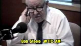 Bob Steele WTIC Radio Hartford 1988