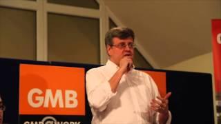 Martin Smith, GMB National Organiser speaks on Amazon