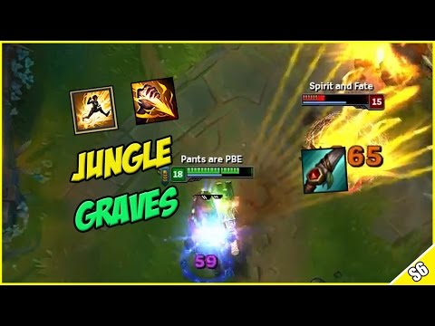 ✔ OP GRAVES REWORK JUNGLE  - PBE Live Commentary | League of Legends