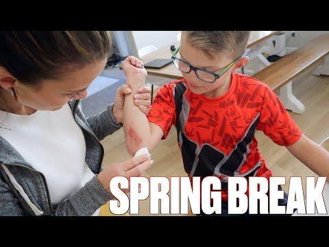 FIRST INJURY OF SPRING BREAK ON THE LAST DAY OF SCHOOL BEFORE SPRING BREAK BEGINS
