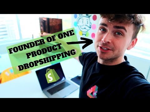 How to Build a One Product Dropshipping Store   Scott Hilse 2019 thumbnail