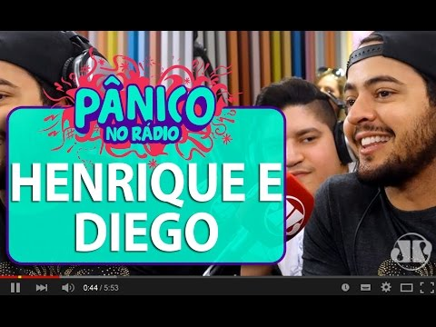 Henrique e Diego - Pânico - 09/03/16