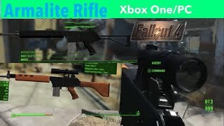 Fallout 4 Xbox One/PC Mods|Armalite Rifle