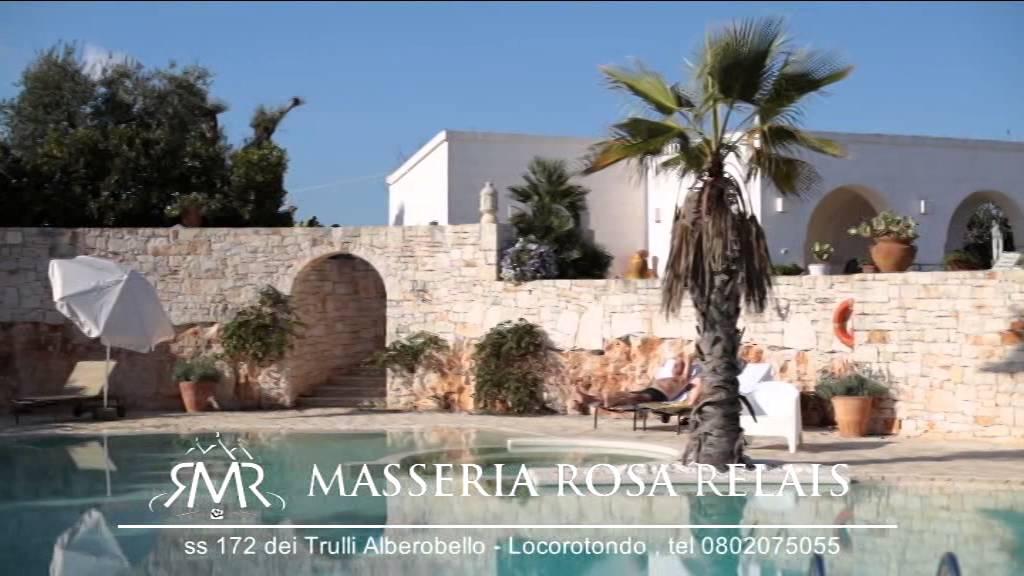 Masseria rosa trulli relais luxury trulli suite con piscina alberobello youtube - Masseria in puglia con piscina ...