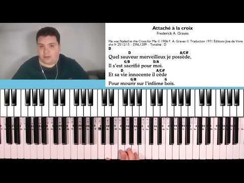 Comment lire une Tablature/Grille d'accords - PIANO LOUANGE