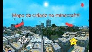 MAPA DE CIDADE NO MINECRAFT PE 1.2!!!