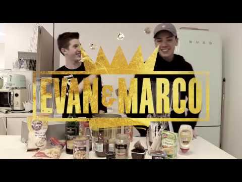 Evan et Marco - What's In My Mouth Challenge