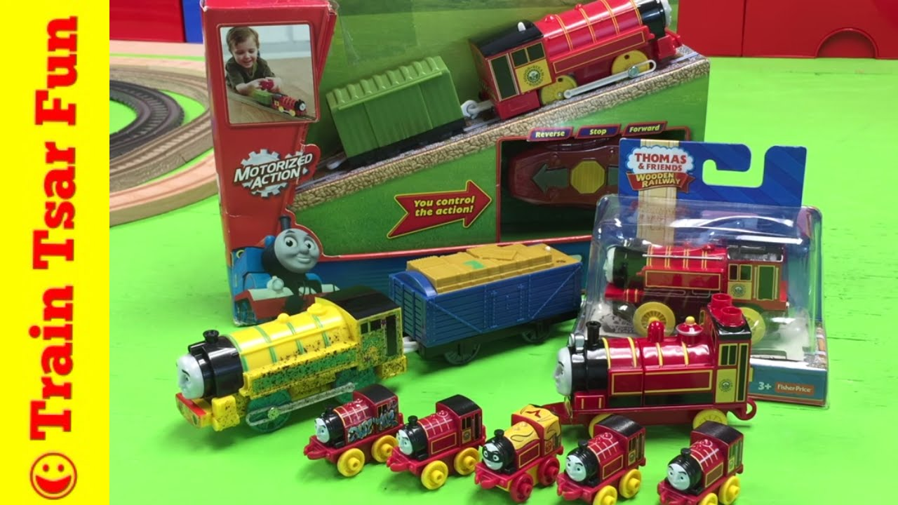 Victor Thomas And Friends Collection Minis Trackmaster