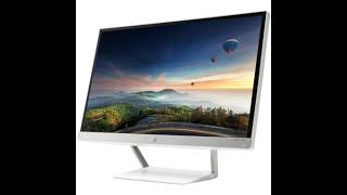 HP 23xw IPS LED Backlit Monitor J7Y75AA unboxing and setup. HP IPS LED Monitor. 58,4 cm.