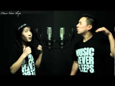 Jason Chen ft Megan Lee - Never Say Never (Justin Bieber ft Jaden Smith)