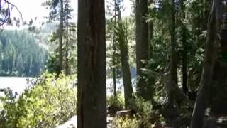 Castle Lake Trail in Siskiyou County by Mt. Shasta Volcano