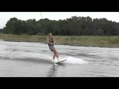 Wakeboarder Leah Gibney