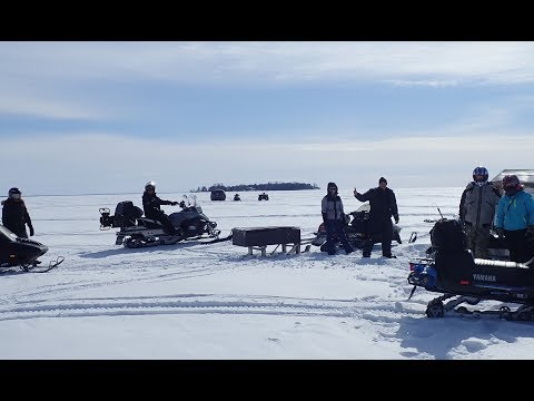 Cold & Windy Ice Fishing Days 2019