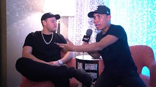 El productor Chris Jeday en entrevista exclusiva con Oxígeno en los Premios Billboard 2018