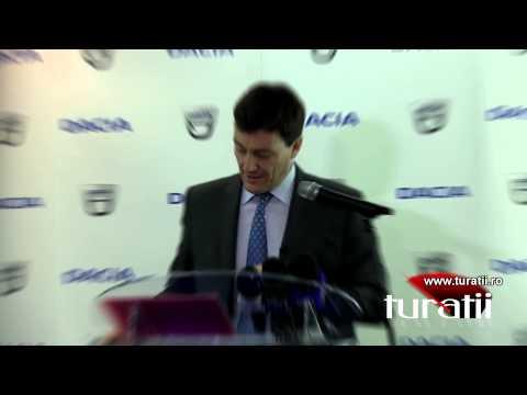 Dacia - Rezultate comerciale 2013
