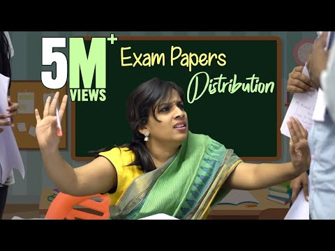 Exam Paper Distribution || Mahathalli