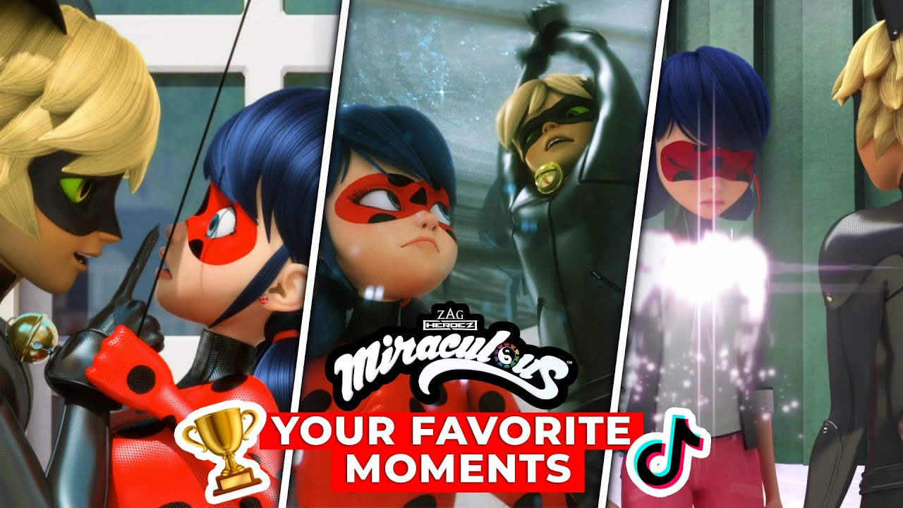 MIRACULOUS | 🐞 Best Ladynoir Moments as Voted for by Fans 🏆