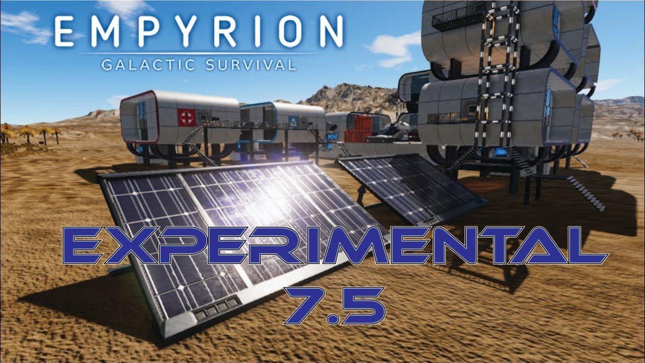 SOLAR PANELS!!!!! - Empyrion: Alpha Experimental 7 5