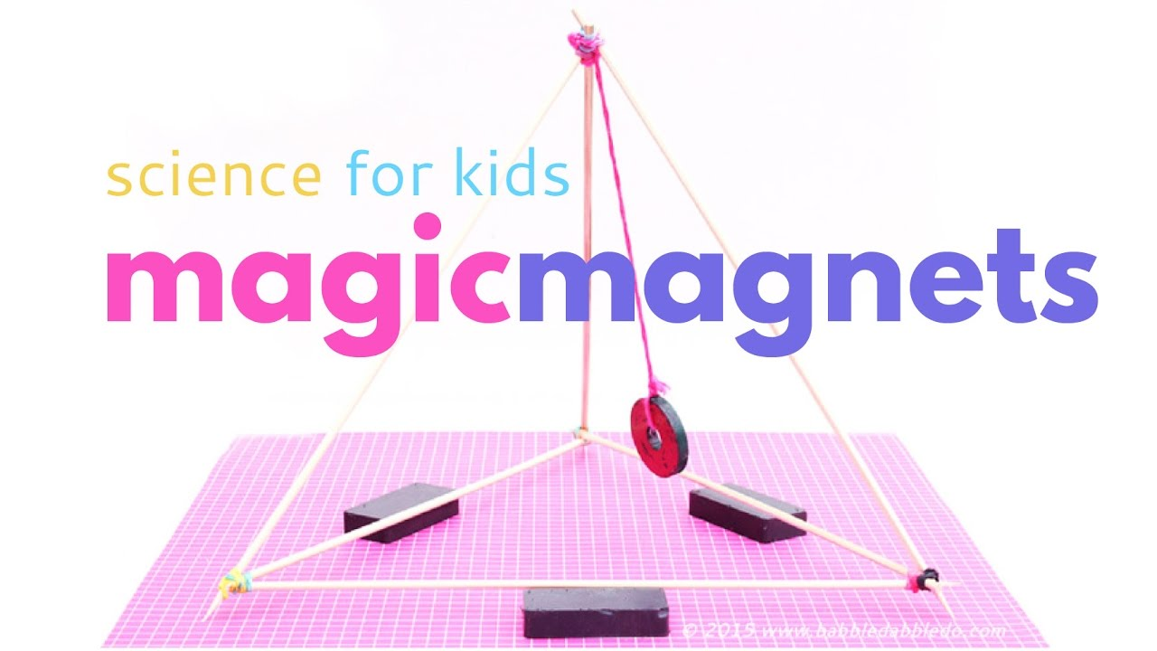 Magnet Magic: 4 Science Experiments for Kids Exploring Magnetism ...