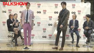 GQ MOST STYLISH MAN SEARCH2014 撮影イベント&トークショー2 サントスマイト 検索動画 20