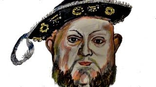 How to Draw KING HENRY Vİ !!!!