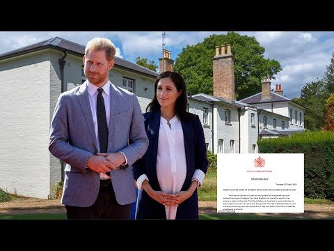 Royal baby: Palace announces NEW details about Duchess Meghan's birth plan