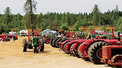 Annual Fathers' Day Antique Tractor Show and Pull in Pottsville Oregon