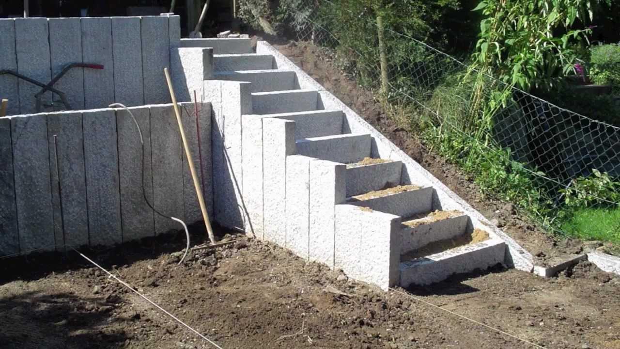 Granit Außentreppe. Granit Au Entreppe. Au Entreppe Treppenanlage Im