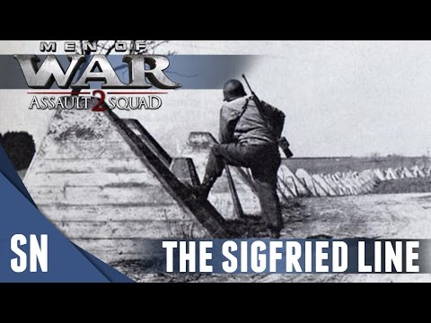 Sigfried line ASSAULT! - Men of War: Assault Squad 2 MOD