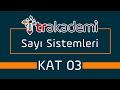 Sayı Sistemleri ve Basamak Kavramı Konu Anlatımı ve Soru Çözümleri KAT 03