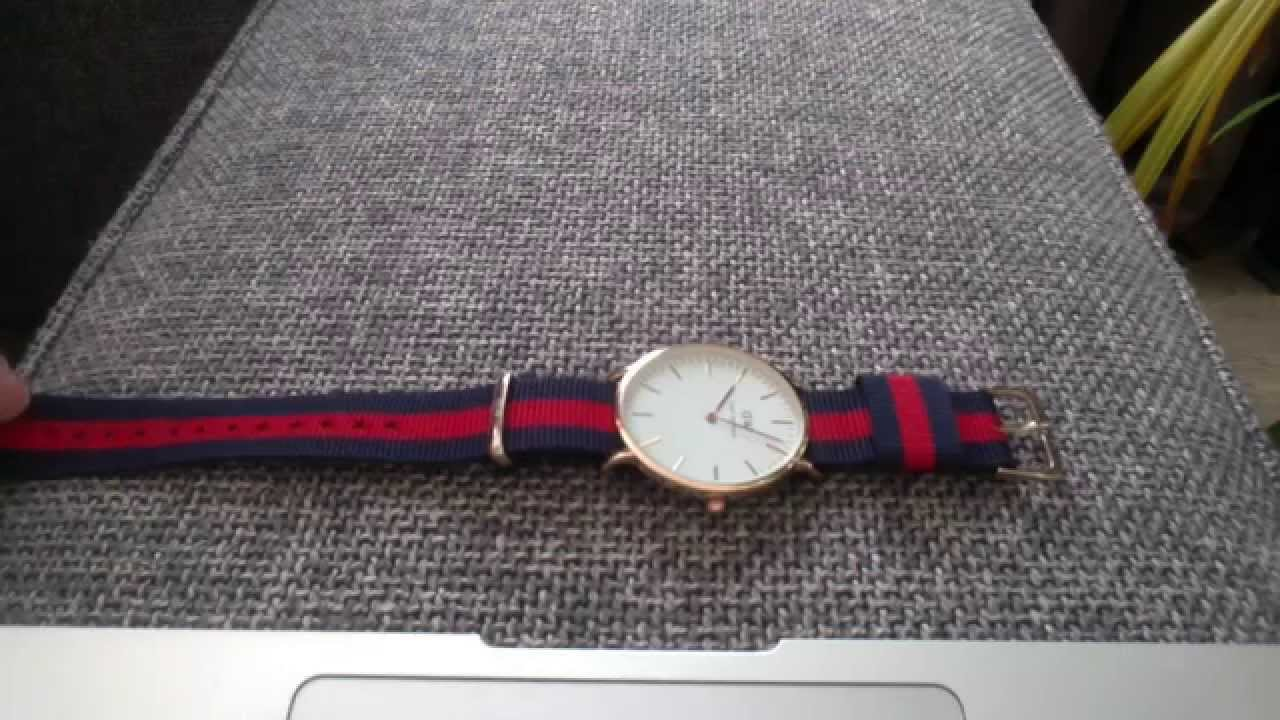 Daniel Wellington 7 Dollar Replica on Aliexpress