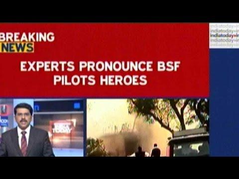 BSF Aircraft Crash: Expert Pilots Avoided Delhi Colony