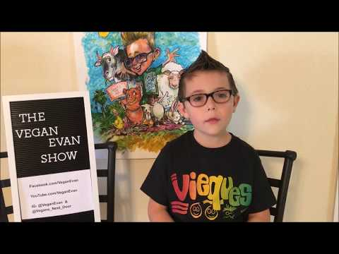 """""""The VeganEvan Show""""  VeganEvan from the Heart"""