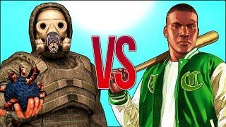 СТАЛКЕР VS ГТА | СУПЕР РЭП БИТВА | GTA Online Game ПРОТИВ Stalker 2 Игра