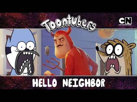 Hello Neighbor, toca aqui!!! ZERAMOS O SEU JOGOOOOOOHHHHHHH!!!! | Toontubers | Cartoon Network
